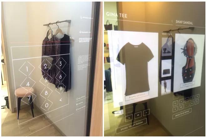 Smart Mirror Rebecca Minkoff Store