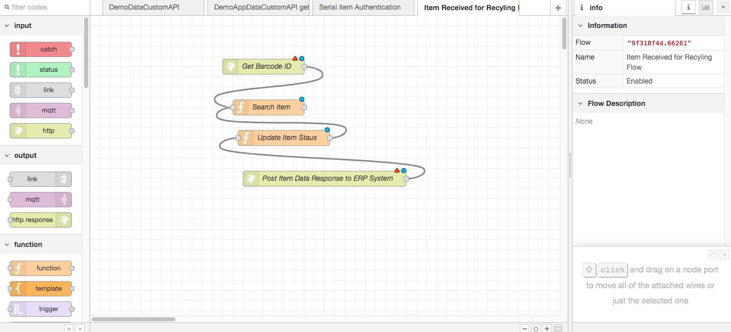 Custom Flow Editor - Qliktag Platform